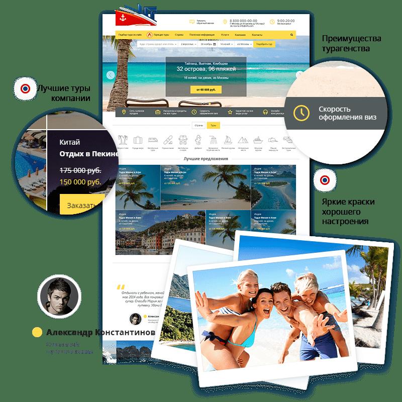 Главная страница Go:Travel